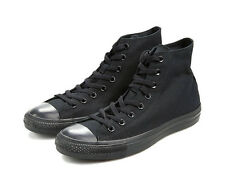 Converse Chaussures Hommes Noires Monochrome Baskets All Star M3310 Neuf