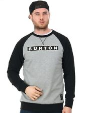 Burton Grey Heather Vault Crew Sweater