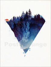 Poster, stampa su tela o vetro acrilico Near to the edge - Robert Farkas