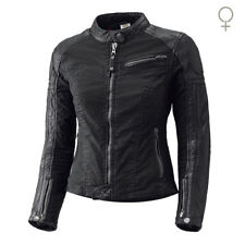 Held Street Hawk le Signore Moto pelle Giacca Tessuto con Dupont™ Kevlar Nuovo