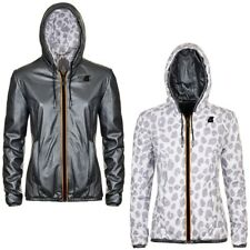K-WAY PELLE LILY KL AIR PADDED DOUBLE giacca reverse imbottita KWAY DONNA 933fuh