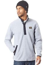 Burton Grey Heather Hearth Henley Sweater