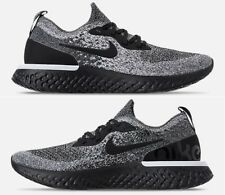 Nike Epic React Flyknit Donna Running Nero - Bianco Originale Nuove in Scatola