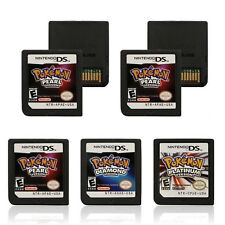 Pokemon Platinum USA Version Game Card for Nintendo DS 3DS NDSi NDSL NDS Lite