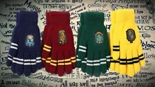 Harry Potter Hogwarts Winter Gloves Gryffindor Hufflepuff Slytherin Ravenclaw