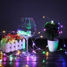 Fairy String Led Light Battery Powered Garland Copper Wire For Outdoor Christmas