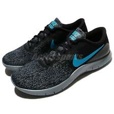 Nike Flex Contact Black Neo Turquoise Grey Men Running Shoes Sneakers 908983-012