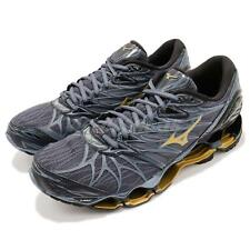 Mizuno Wave Prophecy 7 VII Grey Blue Gold Men Running Shoes Sneakers J1GC1800-50