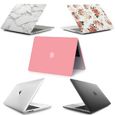 Ultra Slim Plastic Hard Shell Snap On Case For MacBook 2018 A1989 A1990 Pink