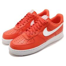 Nike Air Force 1 07 AF1 Team Orange White Men Casual Shoes Sneakers AA4083-800