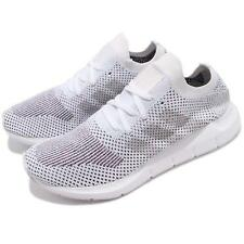 adidas Originals Swift Run PK Primeknit Cloud White Grey Men Running Shoe CQ2895