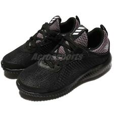 adidas Alphabounce C BOUNCE Black Grey Kids Junior Running Shoes Sneakers BW1186