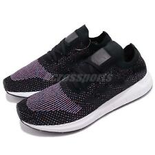 adidas Originals Swift Run PK Primeknit Black Grey Men Running Shoes CQ2894