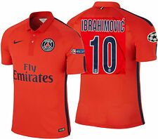 Nike Ibrahimovic Paris Saint-Germain Psg Autentico Terza Match Maglia 2014/15