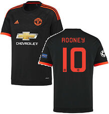 Adidas Wayne Rooney Manchester United Champions League 3RD Maglia 2015/16