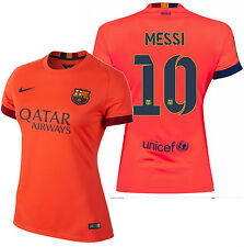 Nike Lionel Messi FC Barcelona Mujer Away Jersey 2014/15