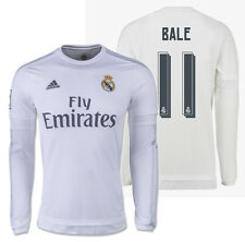 Adidas Gareth Bale Real Madrid Manches Longues Maillot Domicile 2015/16