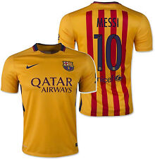 Nike Lionel Messi FC Barcelona Away Jersey 2015/16