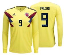 Adidas Radamel Falcao Colombie Manches Longues Home Jersey Fifa World Cup 2018