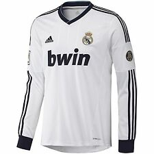 Adidas Real Madrid Manches Longues Maillot Domicile 2012/13
