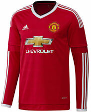 Adidas Manchester United Manches Longues Maillot Domicile 2015/16