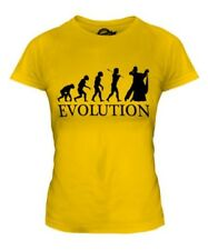 Vals Baile Evolution Of Man Mujer Camiseta Top Regalo Ropa