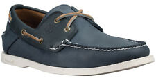 Timberland Ekhert2eye Homme Chaussures Plates à Lacets C6367a Bleue Marine Neuf