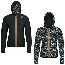 K-WAY KWAY LILY PLUS DOUBLE GRAPHIC giacca reverse CORTA DONNA Variable 904lcxom