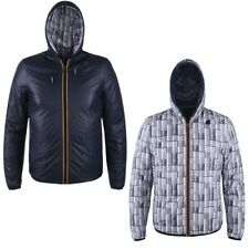 K-WAY KWAY JACQUES KL AIR PADDED DOUBLE giacca reverse CORTA UOMO Cold News 900l
