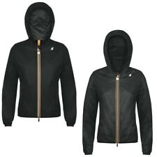 K-WAY KWAY LILY CRINKLE DOUBLE LASERED giacca reverse CORTA DONNA VENTO K02grcdo