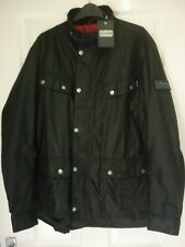 barbour international enfield wax jacket,new with tags on,size medium/large