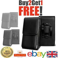 Universal PU Top Open Leather belt wallet case cover for iPhone Various Phones