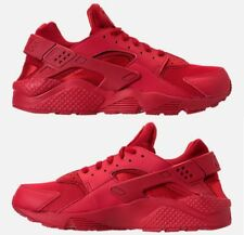 NIKE AIR HUARACHE RUN MEN's SPANDEX RUNNING RED AUTHENTIC NEW IN BOX SELECT SIZE