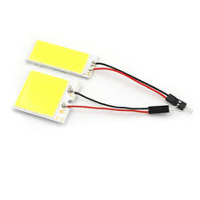 36/48 smd cob led 12v white light car interior panel lights dome lamp bulb FG
