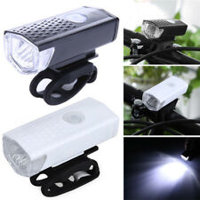 USB Rechargeable Bike Tail Light Front Bicycle Safety Cycling Warning Lamp Newly