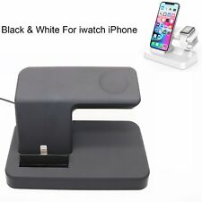 5V/2.5A 2 in 1 Charging Dock Stand Bracket Holder For Apple Watch iWatch iPhone