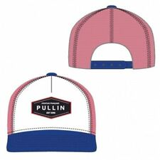 PULL IN Casquette Homme Microcoton LINCOLN Bleu Rouge Blanc