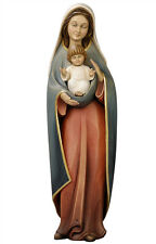 Our Lady of Heart statue wood carving