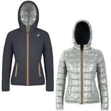 K-WAY LILY THERMO PLUS DOUBLE giacca donna imbottita KWAY reverse Aut/Inv A16pia