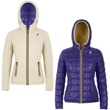 K-WAY LILY THERMO PLUS DOUBLE giacca donna imbottita KWAY reverse Aut/Inv 999dma