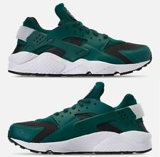 NIKE AIR HUARACHE RUN MEN's RUNNING RAINFOREST - WHITE - OIL GREY AUTHENTIC NEW