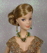 BARBIE  FASHION ROYALTY SILKSTONE BIJOUX JEWERLY SET SWAROVSKI