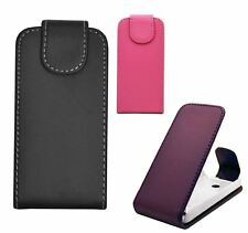 Nokia Lumia 530 Flip Book Pouch Cover Case Wallet Leather Phone