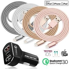 For Lightning USB Charger Charging Data Sync Cable for iPhone 6 78 X XS Max Cord