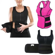 Ladies Girl Slimming Belly Neoprene Vest Sauna Sweat Body Shaper Sports 5 Sizes