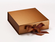 Luxury Copper Gift Box Copper box gift boxes with ribbons Bridesmaid Gifts