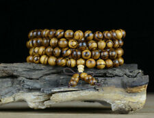 Natural 108 Grains  Buddhism Agalloch eaglewood wood Buddha Beads Hand Catenary