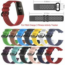 Premium Bracelet Strap Wrist Band for Fitbit Charge 3 Fitness Activity Tracker
