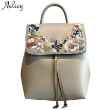 Aelicy High Quality PU Leather Mochila Escolar School Bags For Teenagers Girls T