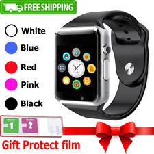 NEW Smart Wrist Watch Bluetooth GSM Phone For Android Samsung iPhone Iphone LG